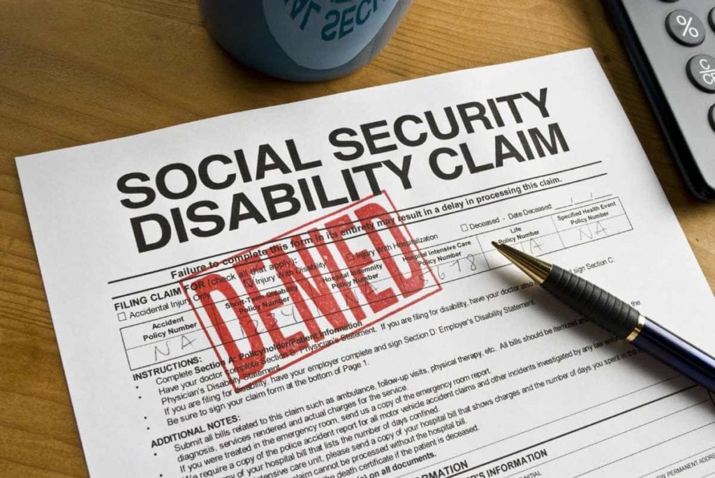 What do I do if I got denied for social security disability?